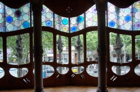 Interior Casa Mila, Barcelona, Spain