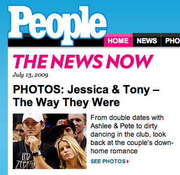 Really People magazine?  Really?
