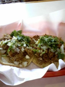 Then, I got a taco from a tacqueria on 9th st. So necessary.